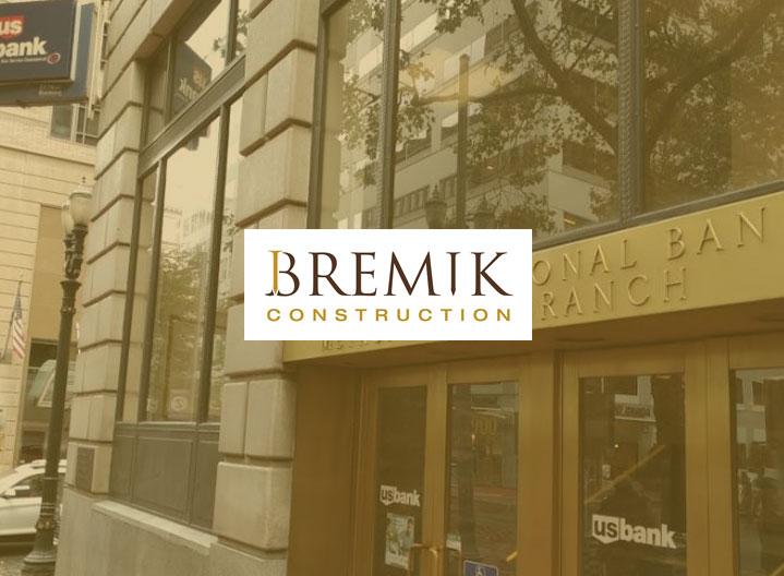 US Bank, Downtown Portland, Bremik Construction